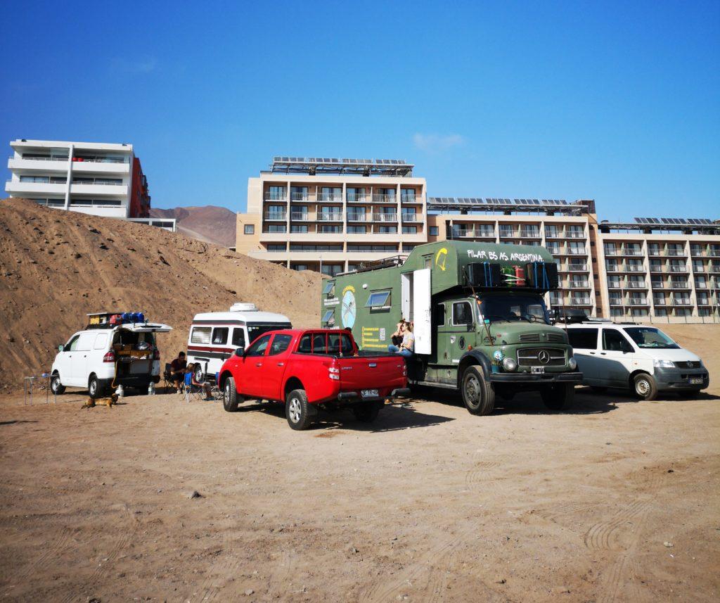 Colombien De La Recherche De L Homme à Antofagasta